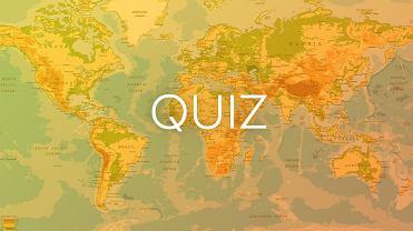 To jeden z najtrudniejszych quiz�w geograficznych. Musisz pozna� pa�stwo. �rednia: 9/15