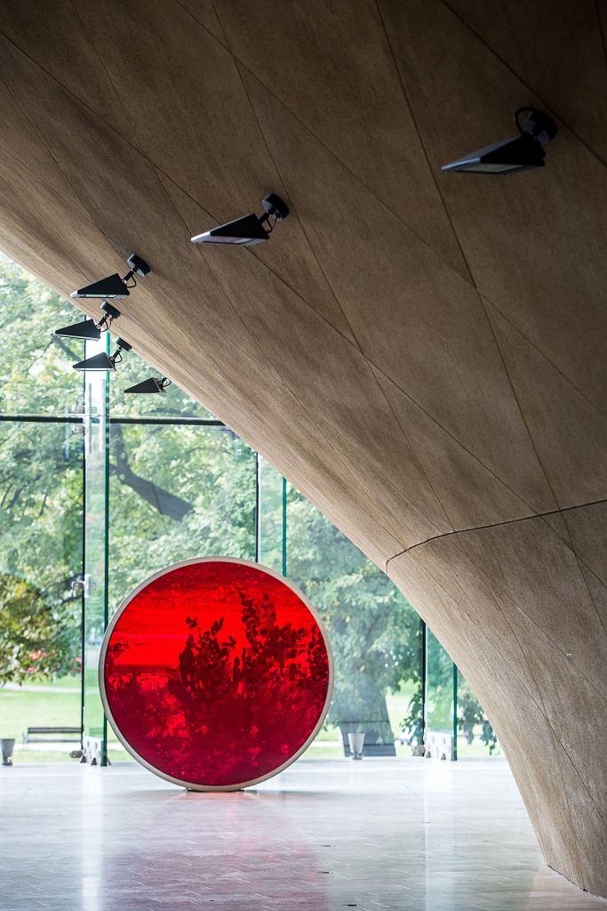 Anish Kapoor 'Blood Cinema'. Wystawa 'Krew. Łączy i dzieli', Muzeum POLIN / Fot. M.Starowieyska