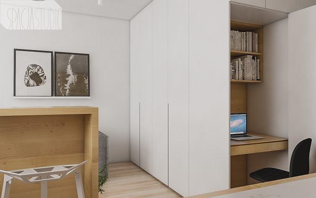 Zdjęcie numer 5 w galerii - Małe mieszkanie pomysłowo urządzone. 29 metrów i oryginalny aneks sypialny