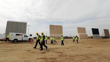 Projekty muru, który chce zbudować Donald Trump