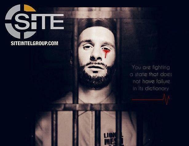 Isis Publikuje Propagandowy Plakat Z Messim Mundial W Rosji