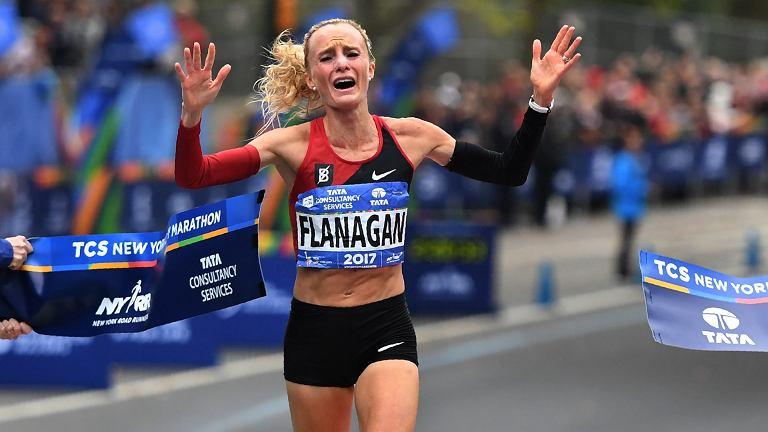 Shalane Flanagan, NYC Marathon 2017