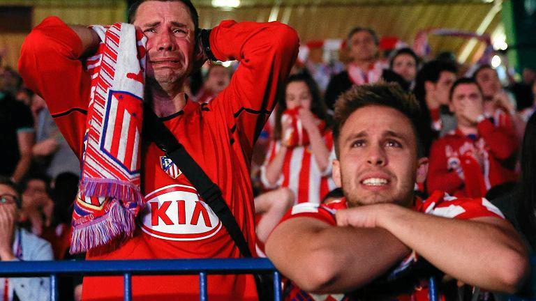 Smutni kibice Atletico