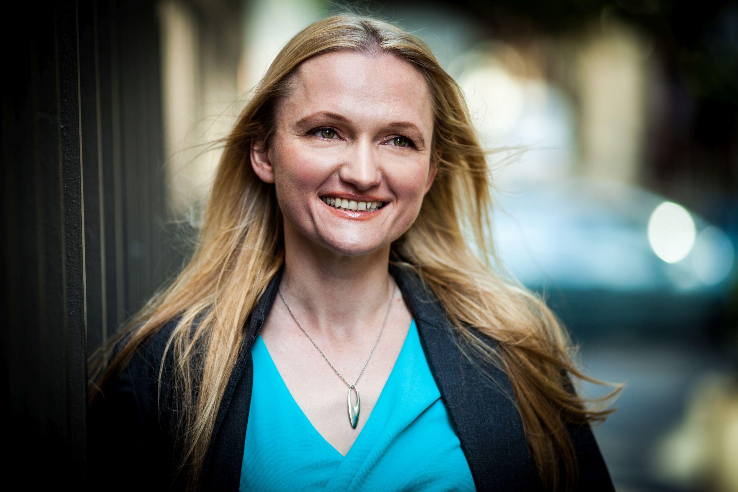 Lila Tretikow, dyrektor wykonawcza Fundacji Wikimedia (fot. Lane Hartwell / Wikimedia Foundation)