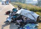 Liczba ofiar wypadku polskiego autokaru w Niemczech wzrosła do 11. Zmarła kolejna osoba