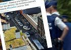 Bruksela. Kobieta zaatakowała maczetą pasażerów autobusu. 3 osoby są ranne