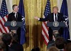 """Trump zmienia zdanie o NATO. """"Już nie jest przestarzałe"""". I chwali się, że to jego zasługa"""