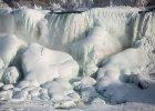 Wodospad Niagara zamarz� przy -14 st. Celsjusza. Niesamowity widok