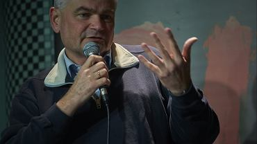 """Edwin Bendyk na debacie o spektaklu """"DZIADY"""" w ramach festiwalu DIALOG"""