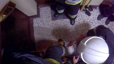 Kadr z filmu straży