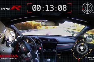 Honda Civic Type R detronizuje VW Golfa w Zielonym Piekle