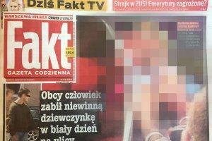 """Zdjęcie z okładki """"Faktu"""" miało być zamazane. Autorzy: """"Złamali umowę"""". """"Fakt"""" zaprzecza"""