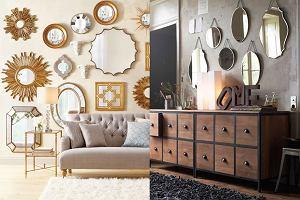 Jak udekorować ścianę za pomocą luster? Salon, jadalnia i korytarz