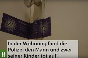 Polak mieszkający w Niemczech zabił dwoje swoich dzieci i popełnił samobójstwo