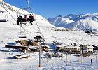 Pora na narty i podwójnie czarny szlak. Z Pic Blanc w Alpach widać jedną piątą Francji