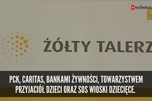 """""""Żółty talerz"""" Dominiki Kulczyk. 4 miliony złotych na posiłki dla niedożywionych polskich dzieci"""