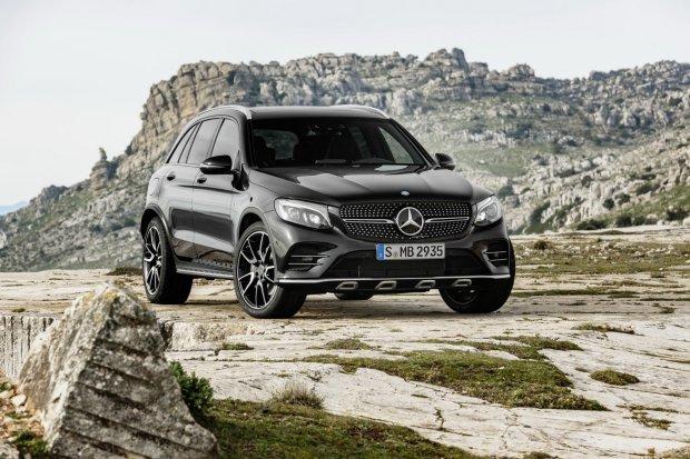 Salon Nowy Jork 2016 | Mercedes-AMG GLC 43 | Rodzina 43 ro�nie w si��
