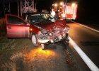 Pijany 21-latek spowodowa� wypadek [ZDJ�CIA]