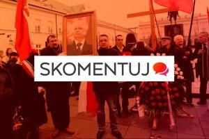 Awantura o pomnik smoleński przed Pałacem Prezydenckim. Uważasz, że powinien tam stanąć?