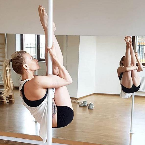 Kasia Bigos - instruktorka fitness i pole dance, mistrzyni Polski i Europy Pole Sport w kategorii duety