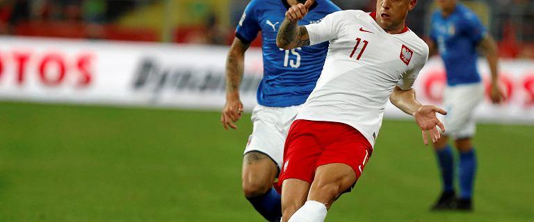 Polska - Włochy 0:1. Kamil Grosicki: Na pewno nie zasłużyliśmy na porażkę