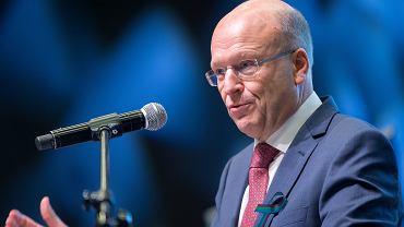 Koen Lenaerts podczas Kongresu Prawników Polskich,  Katowice 20.05.2017