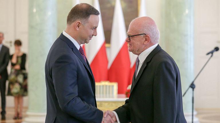 Uroczystość zaprzysiężenia sędziego Trybunału Konstytucyjnego Andrzeja Zielonackiego