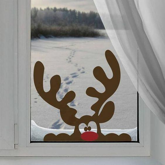 Jak udekorowa okno na bo e narodzenie zdj cie nr 3 - Cadeaux de noel a vendre ...