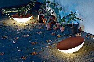 Nastrojowe oświetlenie ogrodu