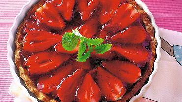 Torcik truskawkowy