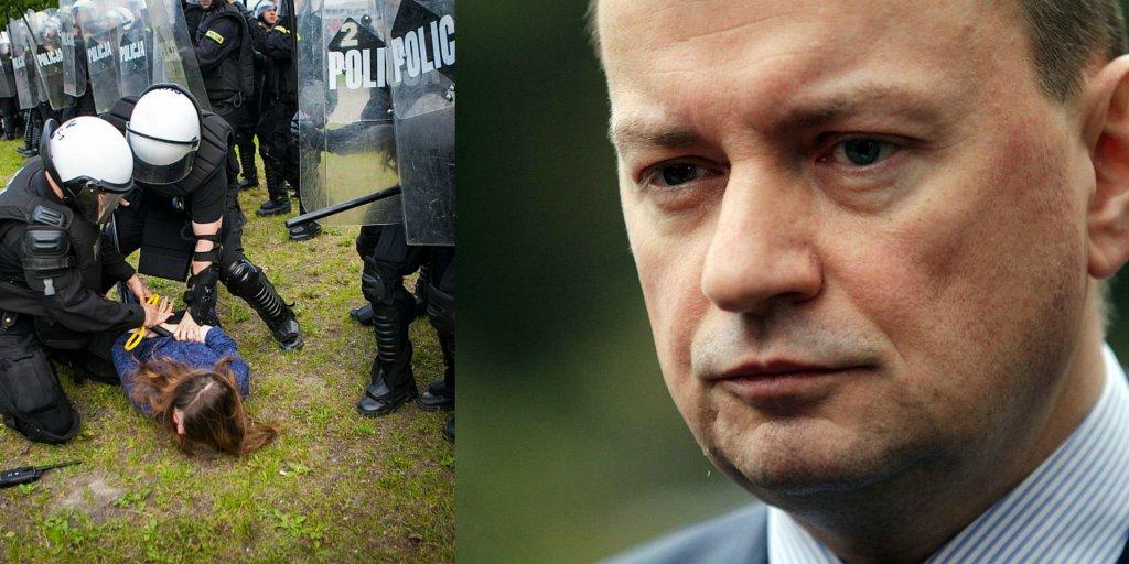 Zatrzymanie w Gdańsku, Mariusz Błaszczak