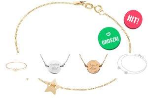 Uniwersalny prezent gwiazdowy - delikatne bransoletki z przesłaniem