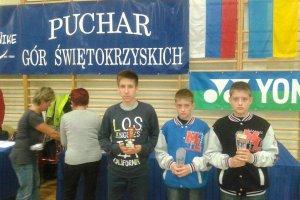 Puchar G�r �wi�tokrzyskich. P�occy badmintoni�ci z medalami