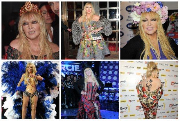 Maryla Rodowicz kończy 70 lat, a ubiera się niczym Lady Gaga. 15 najodważniejszych stylizacji artystki [PRZEGLĄD]