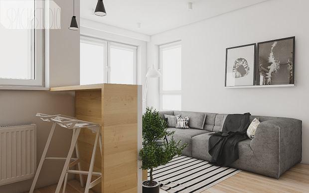 Zdjęcie numer 2 w galerii - Małe mieszkanie pomysłowo urządzone. 29 metrów i oryginalny aneks sypialny