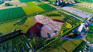 Ogród Jana Pawła II w Inwałd Parku
