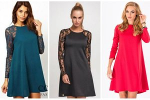 Sukienki trapezowe - propozycje naszej stylistki