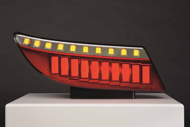 Lampa w technologii OLED