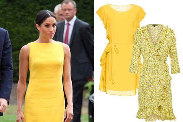 Żółte sukienki nieodłącznie kojarzą się z latem i wakacjami. Kreacje w tym kolorze coraz częściej są noszone na specjalne okazje! Zobaczcie modele, które dla was znalazłyśmy.