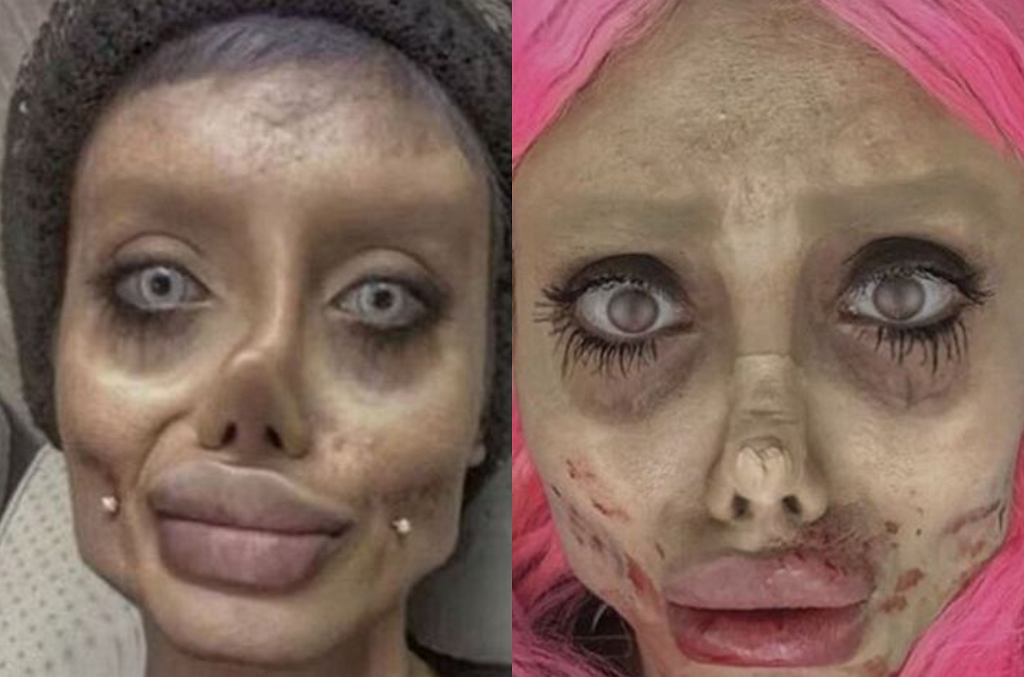 ''Zombie Angelina''