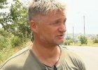 """Pisarz z Polski na wojnie w """"Donbasie"""". Czeka, a� w�adze Ukrainy przyznaj� mu obywatelstwo"""