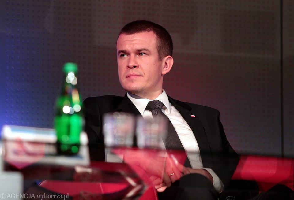 Minister sportu Witold Bańka.