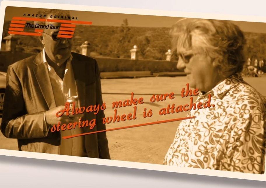 The Grand Tour | Zawsze pamiętaj o kierownicy!
