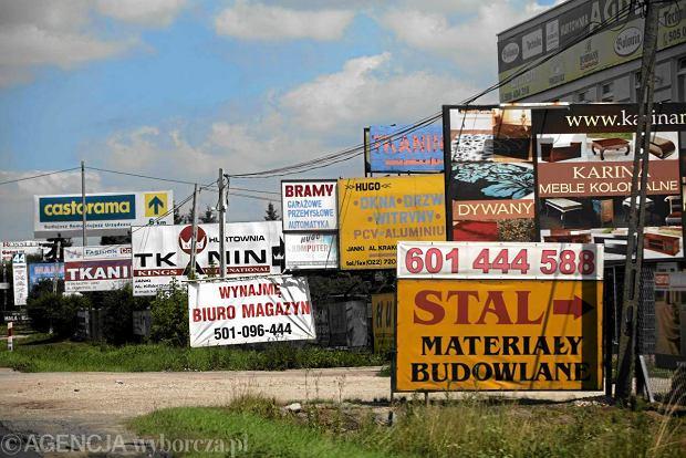 Reklama na reklamie w Jankach pod Warszaw�