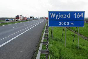 �miertelny wypadek na A4. Autostrada by�a zablokowana