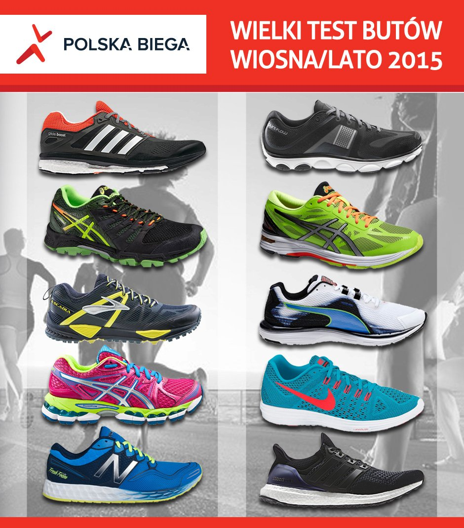 adidas, ASICS, Brooks, Nike, New Balance, Puma [WIELKI TEST BUT�W]
