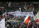 Warszawa, 2. rocznica katastrofy smoleńskiej