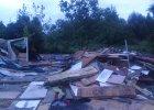 Gdańsk wyrzuca Romów. Urzędnicy sprzątnęli działki razem z lokatorami