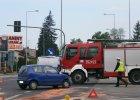 Jedna osoba ranna w porannym wypadku na ul. św. Rocha