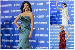 Nicole Kidman, Catherine Zeta-Jones, Kate Beckinsale i Zhang Ziyi w wieczorowych kreacjach na czerwonym dywanie w Chinach [ZDJ�CIA]